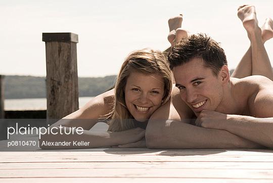 Zwei im Sommer - p0810470 von Alexander Keller