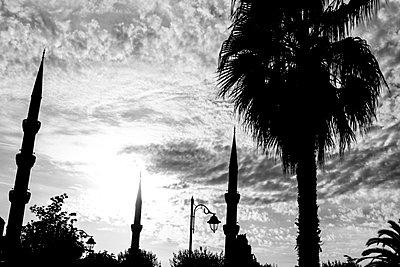 Minarette der Blauen Moschee - p1065m885846 von KNSY Bande