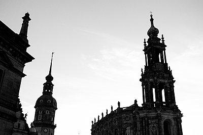 Dresden Schloss und Hofkirche - p1199m2020643 von Claudia Jestremski