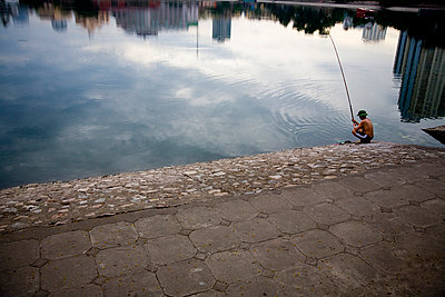 Giang Vo lake, Hanoi - p934m893005 by Francis Roux photography