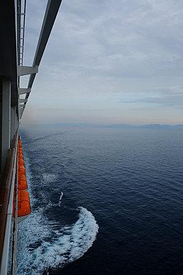 Cruise ship - p1105m2125130 by Virginie Plauchut