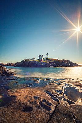 Leuchtturm Cape Neddick Lighthouse - p330m890866 von Harald Braun