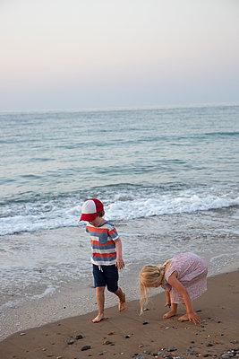 Schöner, schöner Strand - p454m2044135 von Lubitz + Dorner