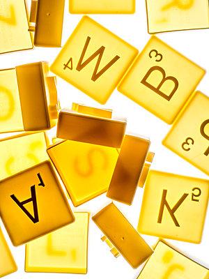 Scrabble letter cutters - p401m2044380 by Frank Baquet