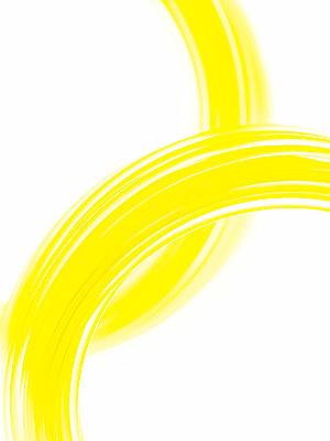 Yellow nylon cord - p401m2260142 by Frank Baquet