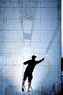 Graffitikünstler - p1222m2228601 von Jérome Gerull