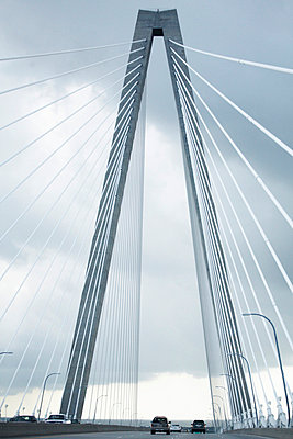 Cooper River Bridge, Charleston, South Carolina, USA - p694m663683 by Maria K