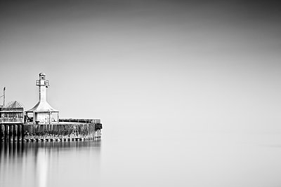 Light house - p1256m2099739 by Sandra Jordan