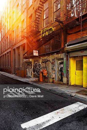 Straße in New York City - p1280m1586022 von Dave Wall
