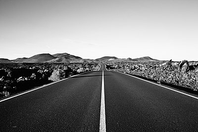 Rural road in Lanzarote - p913m1466231 by LPF