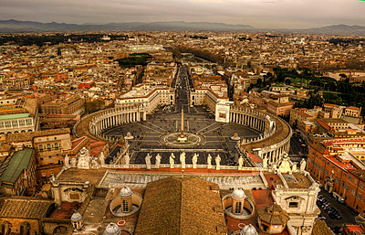 Vatikanstadt - p1620054 von Beate Bussenius