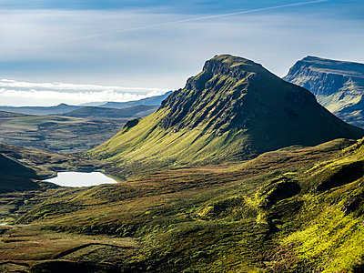 Great Britain, Scotland, Isle of Skye, View from Pass Quiraing - p300m1537611 by Stefan Schurr