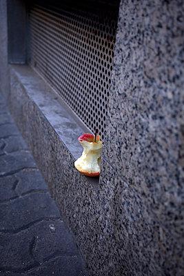 Half-eaten apple - p580m1503126 by Eva Z. Genthe