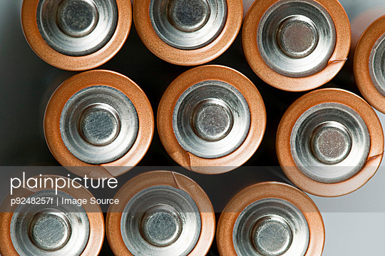 Batteries - p9248257f by Image Source