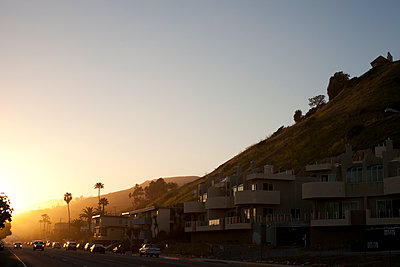 sunset at Malibu, Los Angeles - p1144m967225 by Erik Hup