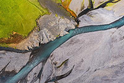 Glacial river - p1585m2285301 by Jan Erik Waider