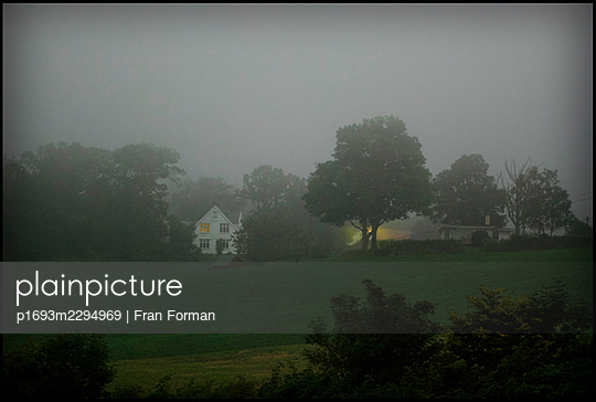 House in the Mist - p1693m2294969 by Fran Forman