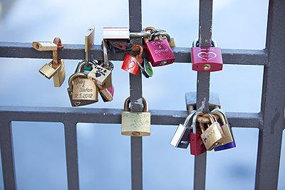 Love locks - p304m919173 by R. Wolf