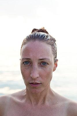 Swimming - p801m764305 by Robert Pola