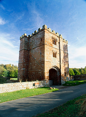 Wetheral Priory. Exterior view of the priory gatehouse. - p8551796 by Keith Wood
