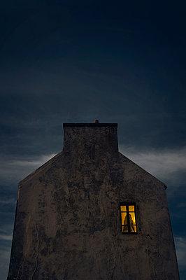 Bretonisches Haus auf Ouessant - p470m2128910 von Ingrid Michel