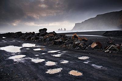 Landschaft in Sued Island - p979m909920 von Jain