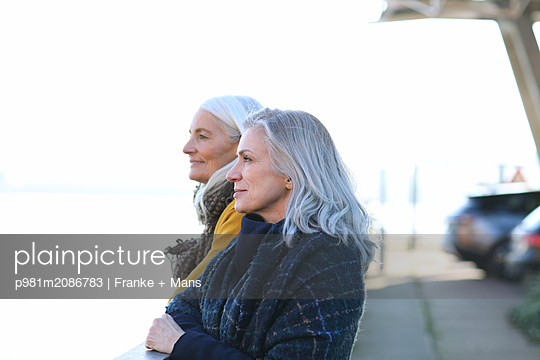 Ausblick - p981m2086783 von Franke + Mans