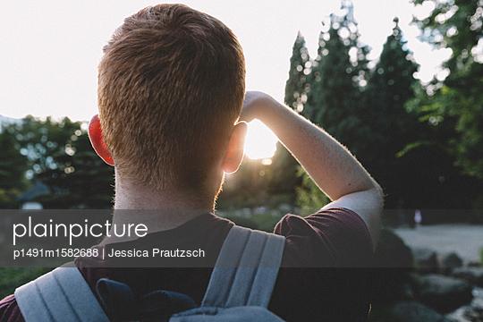 Man schaut in die Ferne - p1491m1582688 von Jessica Prautzsch