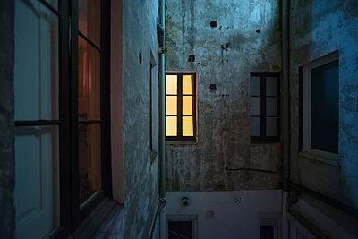 Illuminated window - p178m946372 by owi