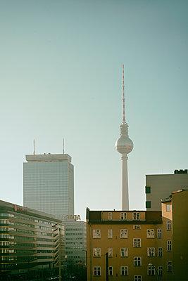Berlin Fernsehturm - p1190m1462148 von Sarah Eick
