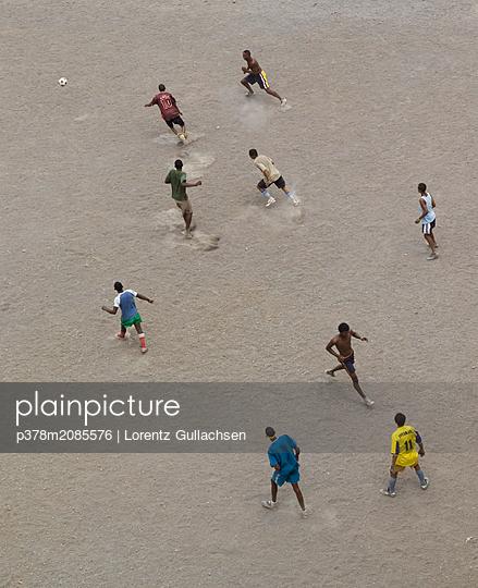 beach football - p378m2085576 by Lorentz Gullachsen