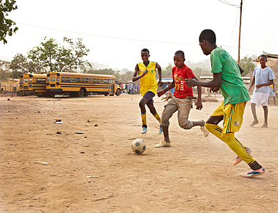 Football in Africa - p3900538 by Frank Herfort