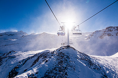 French Alps - p669m1520554 by Lee Irvine