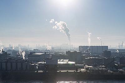 Hafenindustrie Hamburg - p1222m1214204 von Jérome Gerull