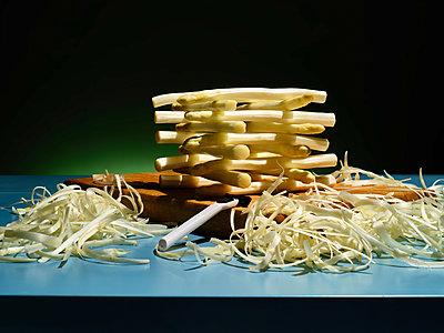 Fresh asparagus - p803m2286009 by Thomas Balzer