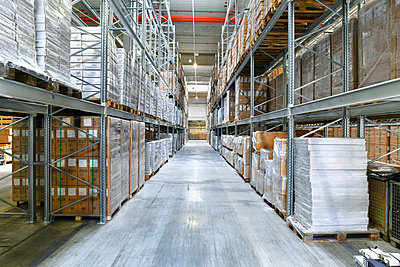 High rack warehouse - p300m1469898 by lyzs