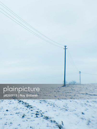Winterlandschaft - p8260013 von Roy Botterell