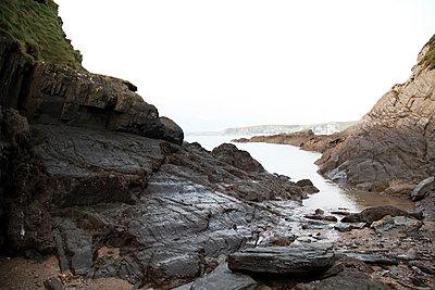 Küste von Devon - p1090m856354 von Gavin Withey