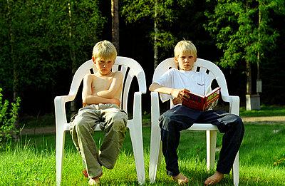 Zwei und einer schmollt - p1650197 von Andrea Schoenrock