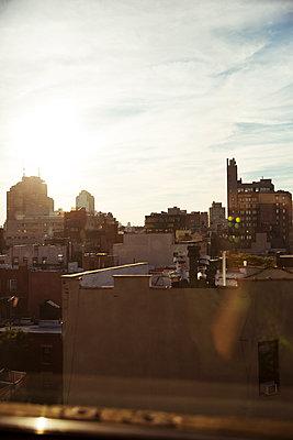 New York von oben - p432m1172405 von mia takahara