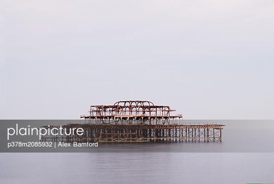 Lost Pier - p378m2085932 by Alex Bamford