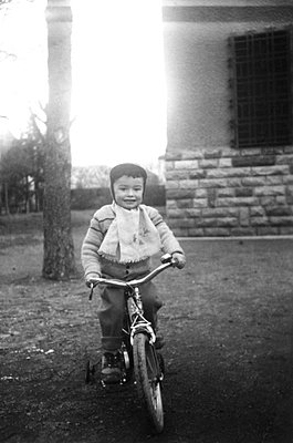 Child learning to cycle - p8130449 by B.Jaubert