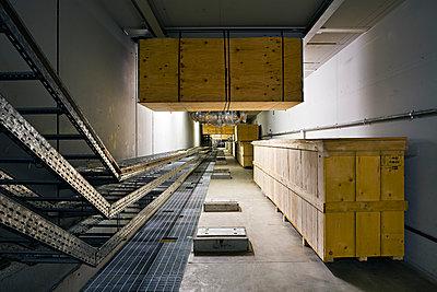 New tunnel at Elettra Synchrotron facility, Trieste - p1558m2133137 by Luca Casonato