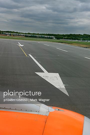 Runway arrow - p1048m1058553 by Mark Wagner