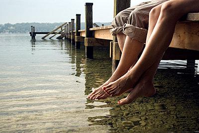 Entspannt am See - p0810454 von Alexander Keller