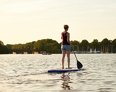 Outer Alster Lake - p1124m1055772 by Willing-Holtz