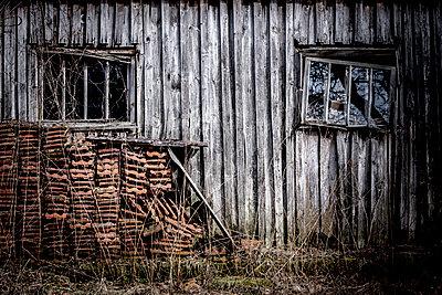 Vintage shed - p1275m1468163 by cgimanufaktur