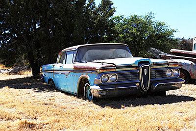 Wrecked car - p0452713 by Jasmin Sander
