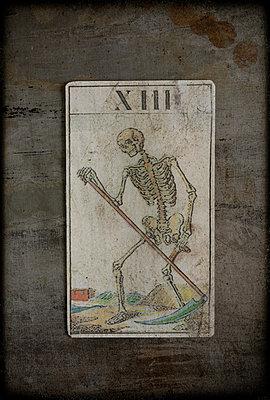 Tarotkarte Tod - p1028m1042285 von Jean Marmeisse