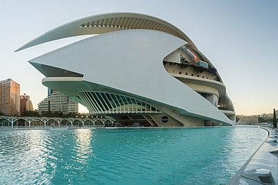 Spanien, Valencia, Palau de les Arts Reina Sofía - p1332m2204555 von Tamboly